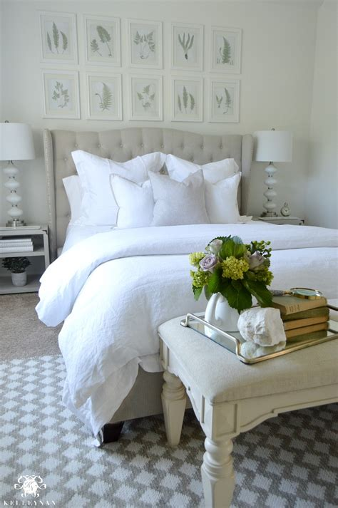 how to decorate your bed guest bedroom reveal the white room