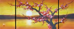 Good Feng Shui Bedroom Chinese Feng Shui Painting Chinese Cherry Blossom Painting