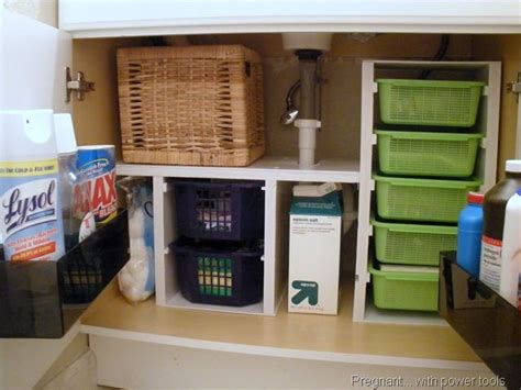 the sink organizing tips storage organization