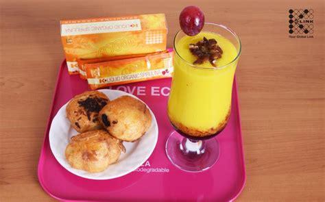 K Link Spirullina Organic Rasa Strawberry jus mangga spirulina k link indonesia