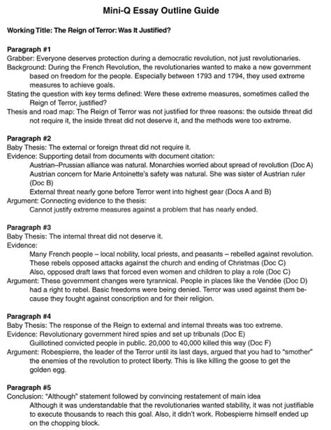 Constitution Mini Q Document B Answers