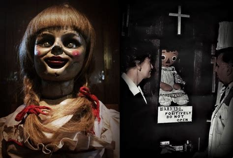 annabelle doll in et annabelle the demonic doll the true story the