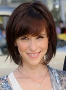 pictures of back of hair bobs with bangs medium short hairstyles bob haircuts with bangs stylish