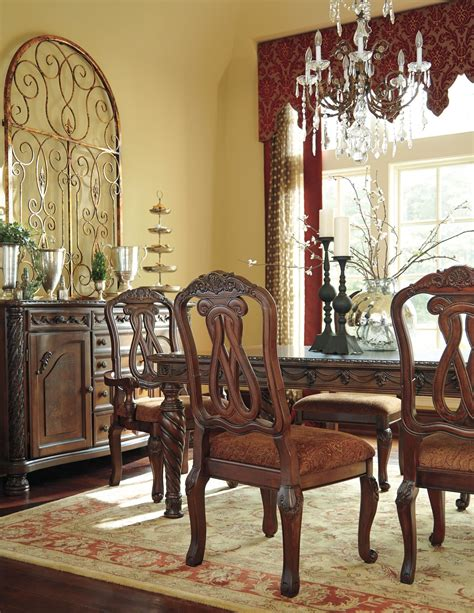 north shore dining room set north shore rectangular extendable dining room set from