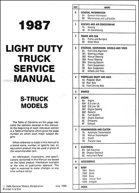 1988 chevy s10 service manual wiring diagram wiring diagrams image free gmaili net 1988 chevy s10 service manual wiring diagram wiring diagrams image free gmaili net