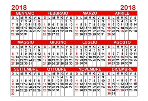 sta calendario 2018 codice 646