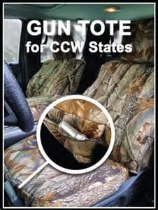 Seat Cover Gun Pocket Okole Hawaii Ccw Gun Tote