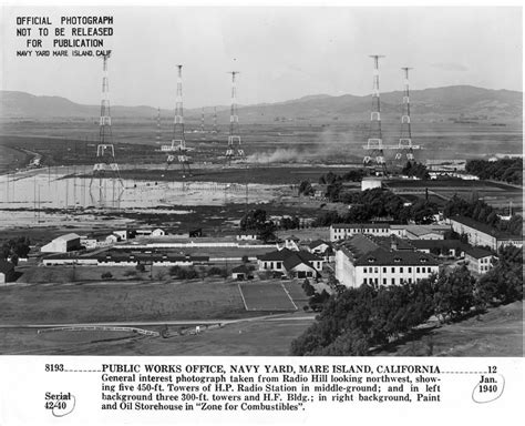 mare island transmitter site  navy radio