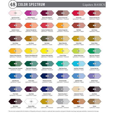 liquitex basics acrylic paint tube 36 piece set new free shipping ebay