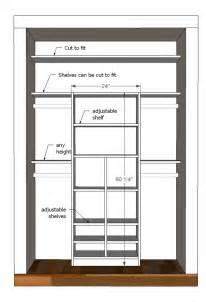 Closet Storage Plans White Just My Size Closet Diy Projects