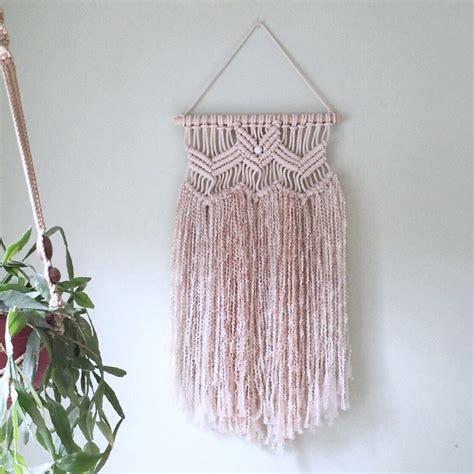 Yarn Macrame - cotton yarn macram 233 wall hanging by mymacramania on etsy