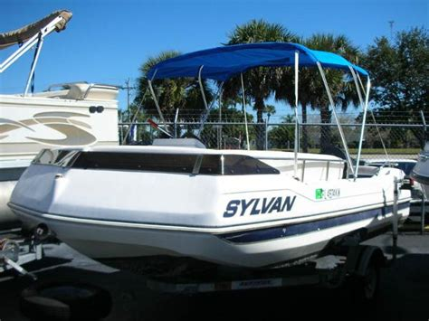sylvan used boats deck boat sylvan boats for sale boats