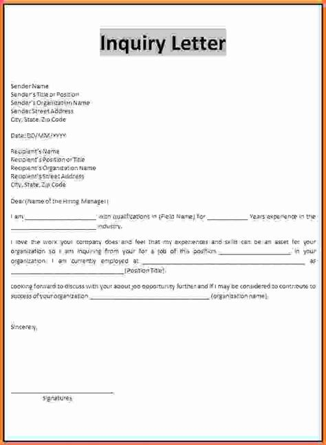 Sle Letter For Visa Enquiry Doc 12871662 Sales Inquiry Letter 6 Sle Inquiry Letter 93 More Docs Cakemasti