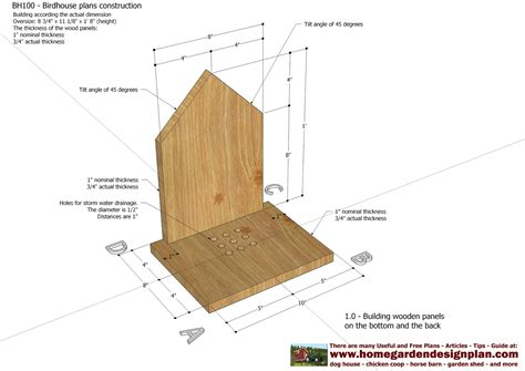 Flicker Bird House Plans Images Quail House Plans Free