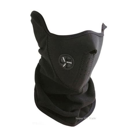 Motorcycle Ski Half Mask Masker Motor Black Murah で買える激安フェイスマスクはそこそこのクオリティ kooooooya s diary