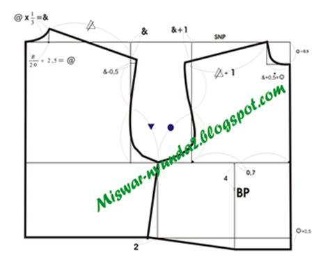 pola dasar kemeja anak pola dasar baju anak artikel bagus