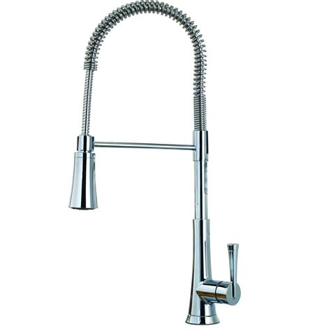 industrial style kitchen faucet pfister mystique commercial style single handle pull down
