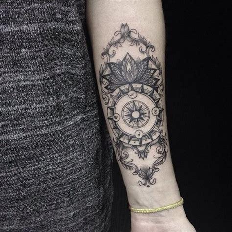 compass tattoo black amazing black compass tattoo best tattoo ideas designs