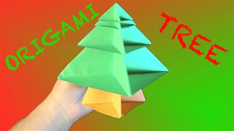 Origami Rob S World - how to make an origami tree modular