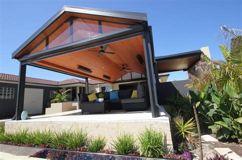 Alfresco Outdoor Area Steel Patio Living
