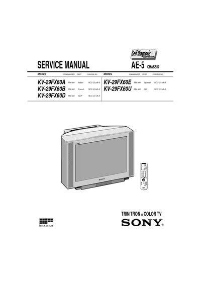 transistor horizontal sony 29 inc 28 images manual de servicio sony genezi mhc ec68 service