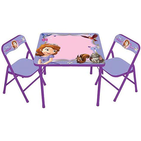 Sofia The Table And Chair Set disney sofia the erasable activity table and chairs