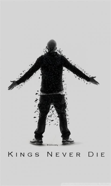 Eminem Kings Never Die 4K HD Desktop Wallpaper for 4K