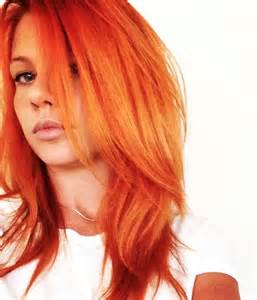 orange hair color pravana orange hair color brown hairs
