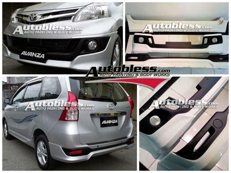 Stopllu Belakang All New Avanza 2012 2014 baru bodykit toyota avanza all new 2012 trd s