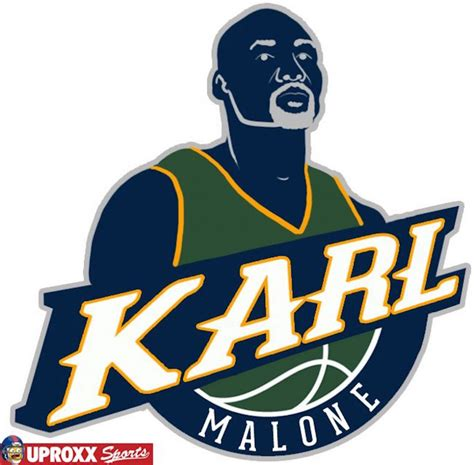 Emblem Jazz All New 5 Nba Logos Redesigned As Each Team S Greatest Player Of