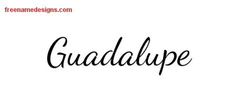 tattoo name guadalupe guadalupe archives free name designs