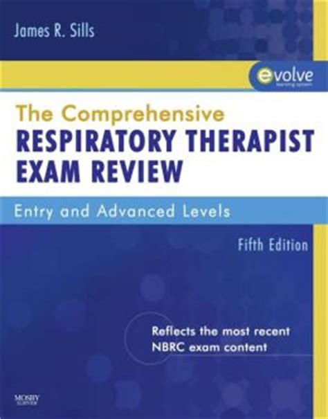 comprehensive respiratory therapy preparation guide books the comprehensive respiratory therapist review by
