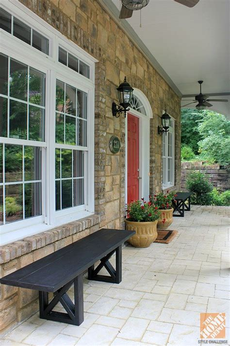 front porch benches front porch decorating ideas diy wooden benches and