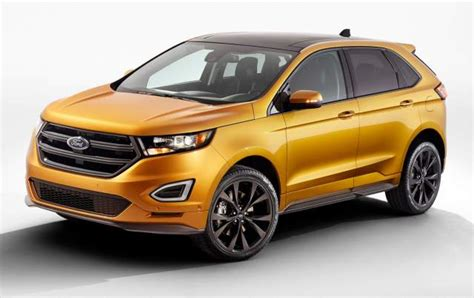 2016 Ford Edge Review Release Date 2015 2016 New