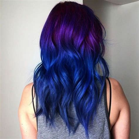 How Long Does Ombre Hair Color Last | how long does semi permanent hair dye last purple ombre