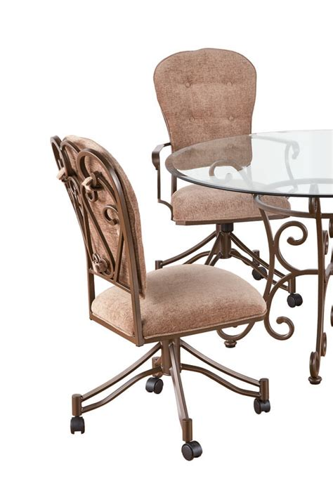 callee valencia tilt swivel dining chairs set of 2