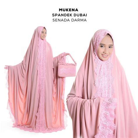 Abaya Mukena Terusan Untuk Sholat mukena dewasa spandek terusan dubai renda baju muslim aisyah