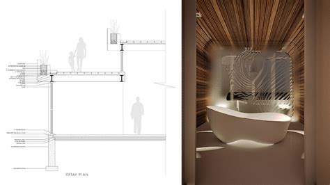 designboom bathroom designboom qastic s house in california is shaped by