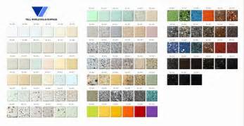 Corian Colour Chart Corian Countertop Color Chart Pictures To Pin On