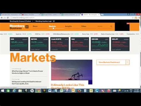 Bloomber Import import real time stock quotes from bloomberg to