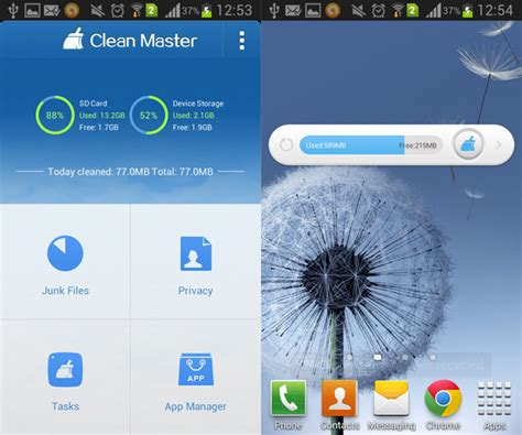 clean master app for android clean master android cache cleaner aw center