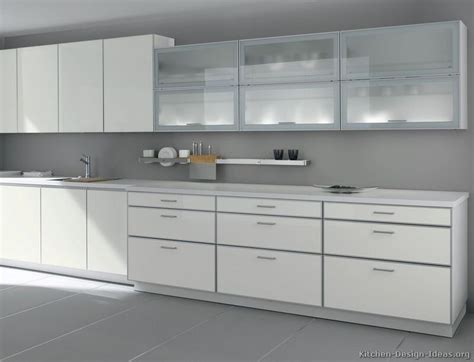 white contemporary kitchen cabinets best 25 glass kitchen cabinet doors ideas on