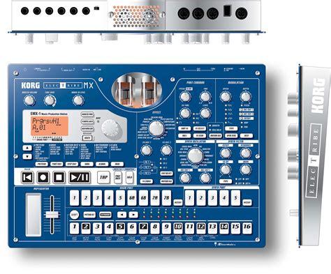 korg emx patternbank korg electribe emx1 image 579722 audiofanzine