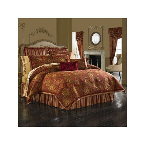 queen street bedding queen street scarlet 4 pc comforter set 72153990091