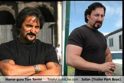 horror guru tom savini totally looks like julian trailer