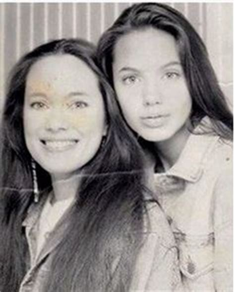 marcheline bertrand remembered rare baby pictures show angelina jolie with look alike