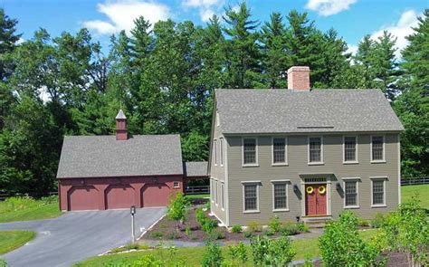 Colonial Saltbox Home Plans New England Colonial House Colonial Saltbox House Plans