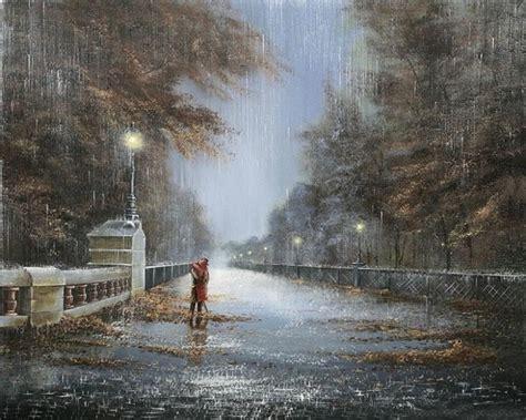 imagenes bellas de lluvia hermosas pinturas que muestran la belleza de la lluvia