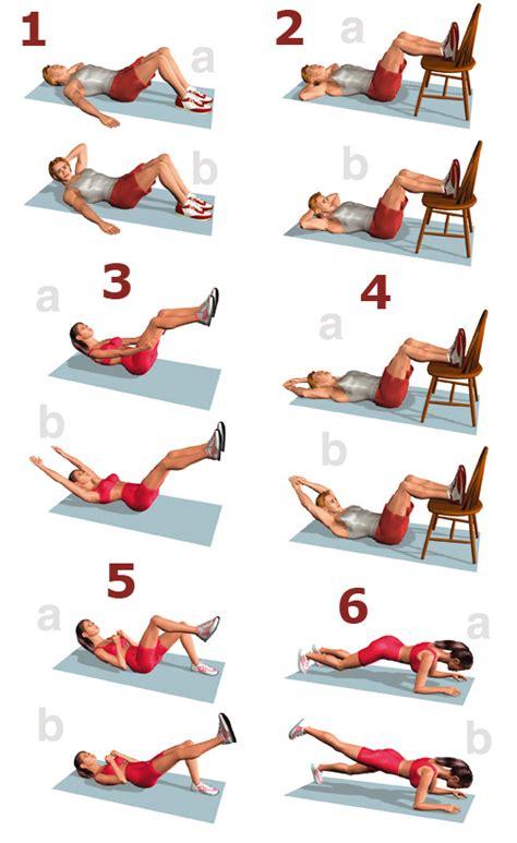 ejercicios abdominales en casa entrenamiento de abdominales en casa buena salud