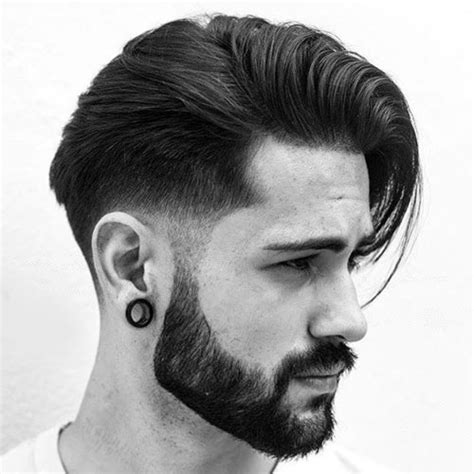how long should hair be for combover 25 classic taper haircuts men s haircuts hairstyles 2018
